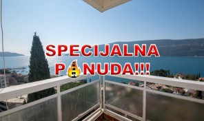 SOLD- One bedroom apartment with panoramic sea view – Herceg Novi, Centar