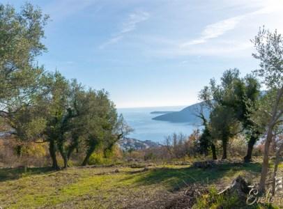 Prodaja placeva Herceg Novi Vise pojedinacnih parcela sa pogledom na more Trebesin 3