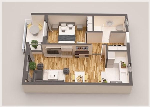Prodaja stanova Herceg Novi - Jednosoban stan u novogradnji, Bijela