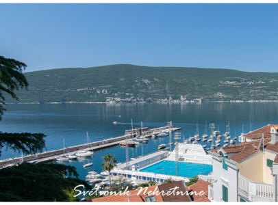 Prodaja stanova Herceg Novi - Stan sa panoramskim pogledom u na more, Škver