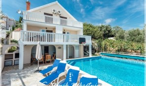 Prodaja i izdavanje – Kuca sa bazenom i panoramskim pogledom na more – Zvinje, Herceg Novi