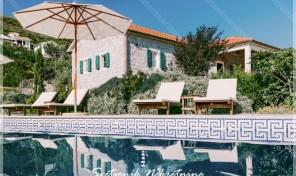 Luksuzna kamena vila sa imanjem i panoramskim pogledom na more – Zabrdje, Herceg Novi