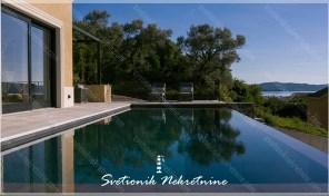 Luksuzna vila sa bazenom i panoramskim pogledom na more – Donja Lastva, Tivat