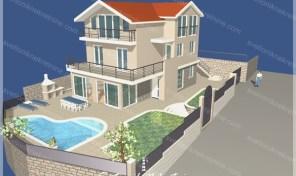 Kuca u izgradnji u neposrednoj blizini mora – Savina, Herceg Novi