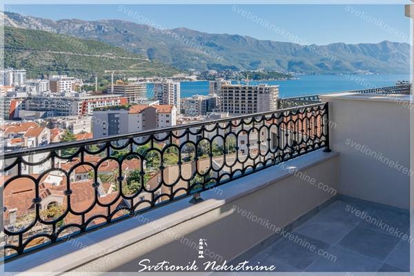 Prodaja stanova Budva - Jednosoban stan sa pogledom na more u neposrednoj blizini hotela Splendid, Babin Do