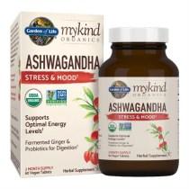 Garden of Life mykind Organics Ashwagandha Stress & Mood 60 Vegan Tabs - Swanson Health Products