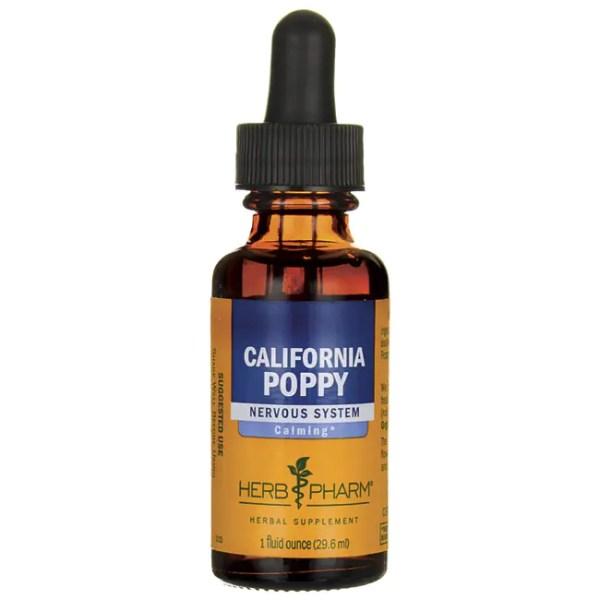 Herb Pharm California Poppy - Nervous System 1 fl oz (29.6 ...