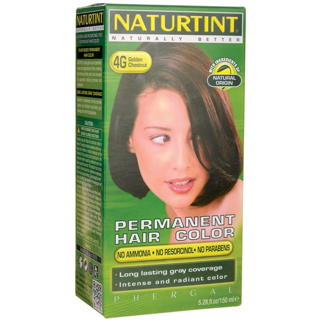 Naturtint Permanent Hair Color 4G Golden Chestnut 1 Box