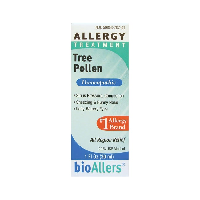 BioAllers Tree Pollen Allergy Treatment 1 fl oz Liquid - Swanson ...