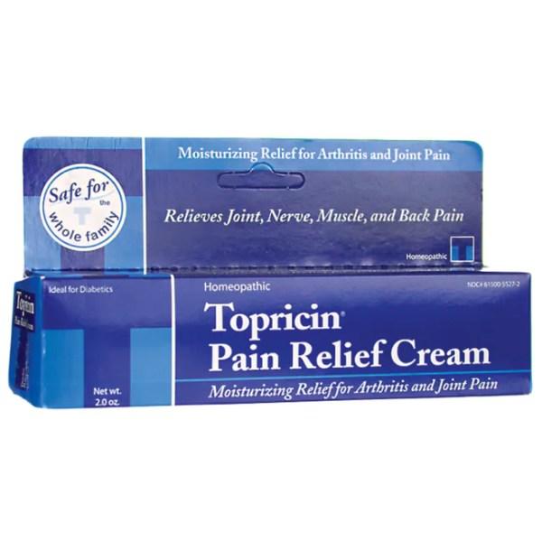 Topricin Pain Relief Cream 2 oz Cream - Swanson Health ...