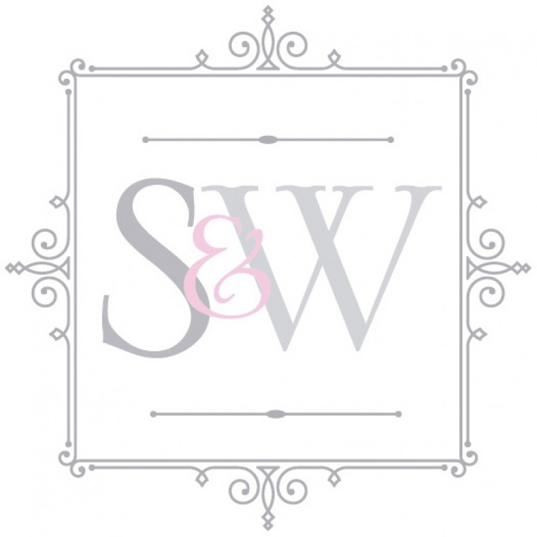 Willoby Blue Glass Lamp Lighting Sweetpea Willow