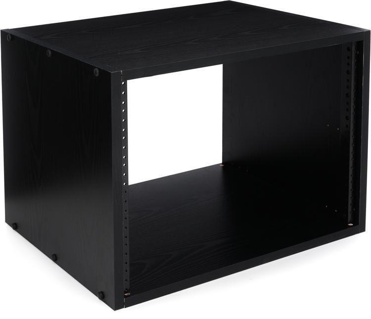 rk8 8u rk series rack black finish