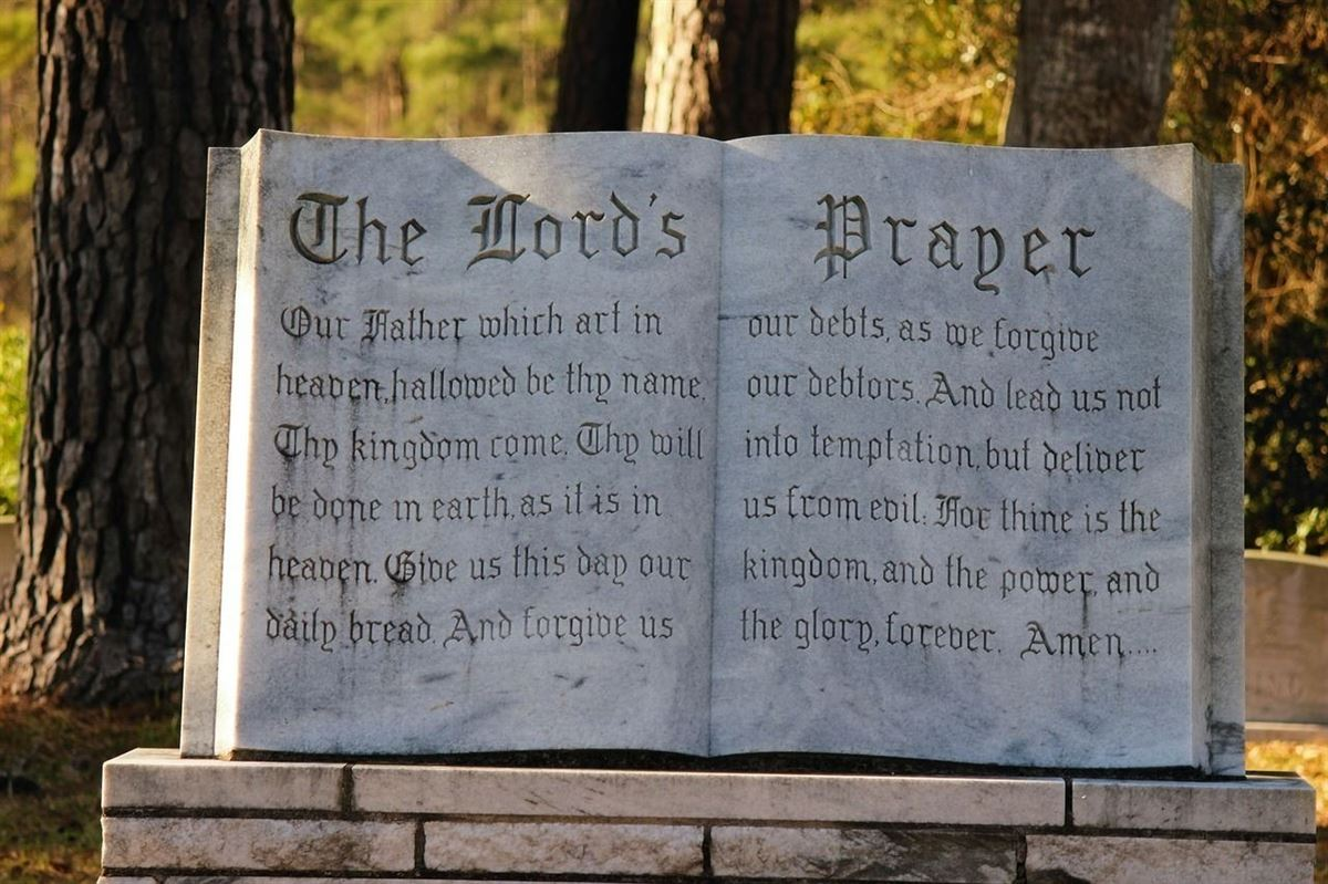 The Lord S Prayer In The Bible