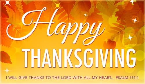 Happy Thanksgiving ECard Free Thanksgiving Cards Online