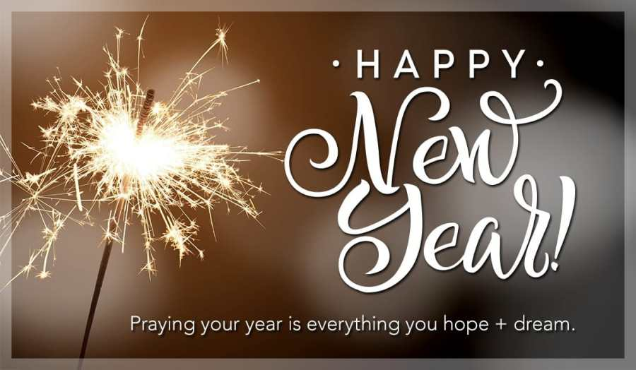 Praying your year is everything you hope and dream eCard   Free New     Praying your year is everything you hope and dream ecard  online card