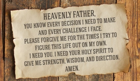 5 Prayers for Guidance - Receive God's Direction and Wisdom!