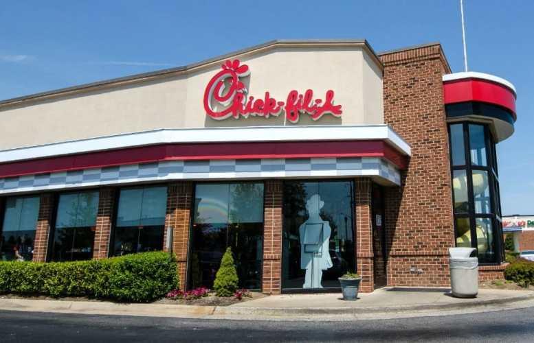 Chick Fil A Worker Runs After Customer