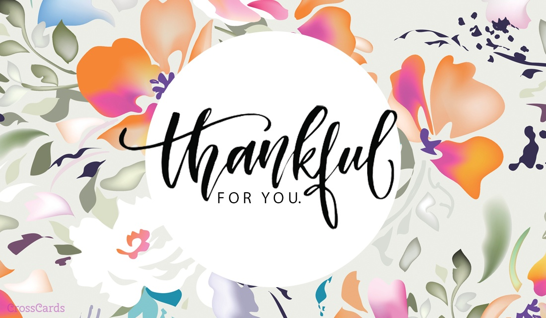 Free Im Thankful For You ECard EMail Free Personalized