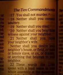 10 commandments bible # 20