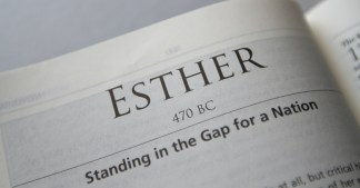 Jack Graham on A Mother's Day Reflection on the Book of Esther