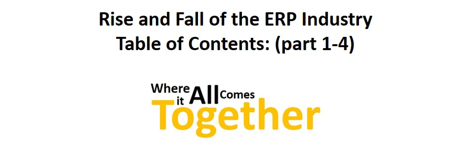 Feel The Hearteat 0_4 Dynamics 365 Table contens Rise and fall ERP