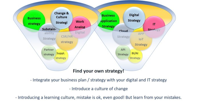 Sysfinity Integrate Your Business Plan and strategy with the Digital Strategy_Eng