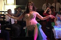 dinner show with belly dancer show on Nile river