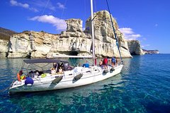 Milos Sailing Tour with snorkeling and lunch