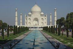 From Jaipur: Private Day Trip to Taj Mahal by Private Car