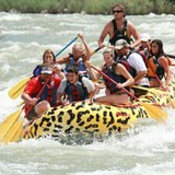 West Yellowstone Montana Rafting Yankee Jim Canyon on the Yellowstone River 7874P3