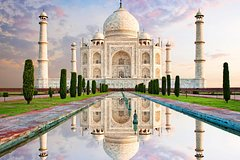 Taj Mahal and Agra Fort Private Day Trip by Train from Delhi