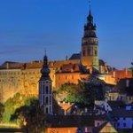 Cesky Krumlov Bohemia Cesky Krumlov Day Trip from Prague to Vilshofen 8678P52