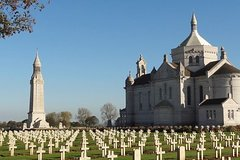 Half-Day Tour From Arras or Lens to Notre Dame de Lorette and Hill 70 Memorial
