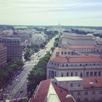 Washington DC District of Columbia White House and Pennsylvania Avenue Architecture Tour 33458P5