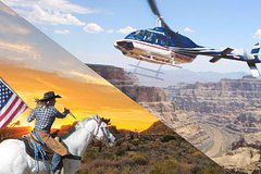 Grand Canyon Cowboy Cabin & Wild West Adventure from Las Vegas