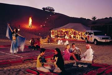 Overnight Desert Safari Dubai- Experience Magical Arabian Night in Dubai Sahara