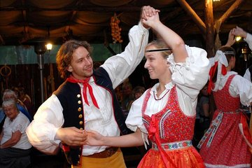 Czech Traditional Folklore Show including Dinner and Transport
