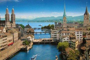 Private Airport Transfer Zurich Airport (ZRH) to Zurich city centre - Minivan