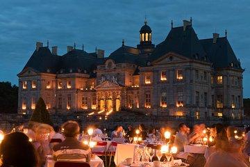 Luxury Evening Dining Experience at Chateau de Vaux-le-Vicomte