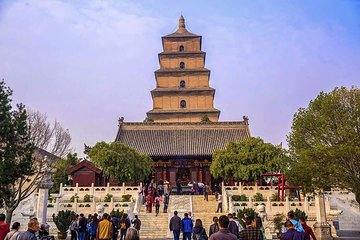 Private Half Day Tour to See The Big Wild Goose Pagoda&City Wall: