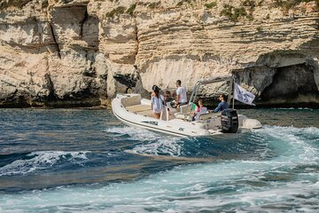 Tour of the Gulf of Cagliari in a rubber dinghy