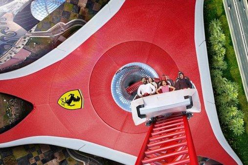 Abu Dhabi Mosque and Ferrari World tour from Dubai 2021