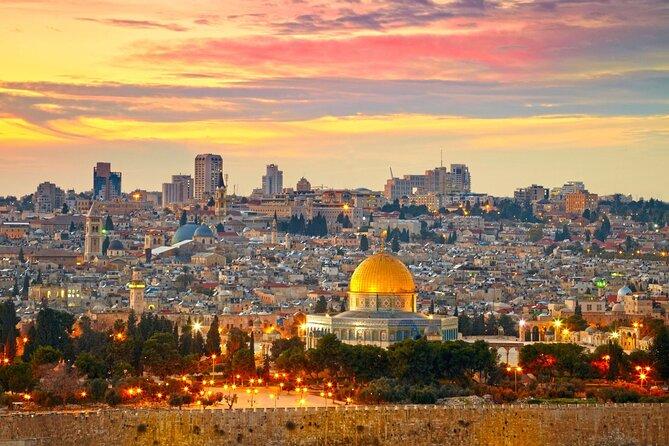 Image result for jerusalem at night