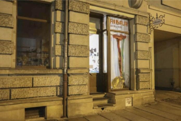 This hair salon was raided Wednesday night around 7:45 pm.