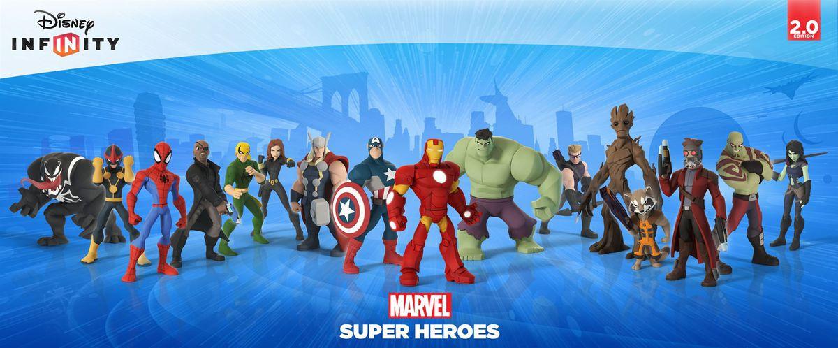 Xbox Disney Infinity Marvel Super Heroes Avengers Starter