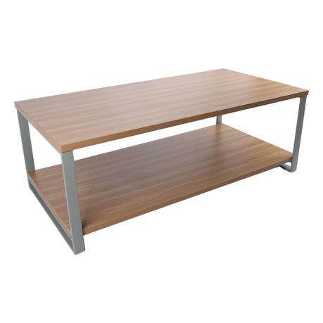 heartdeco modern steel frame coffee table