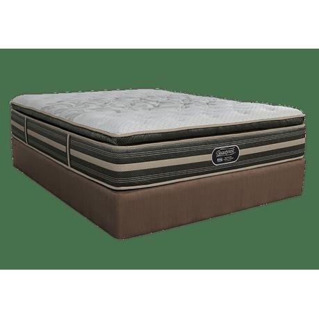 simmons queen mattress and base set world class plush