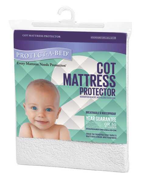 Protect A Bed Cot Mattress Protector Loading Zoom