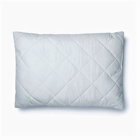 pacific luxe pillow protector quilted poly casing