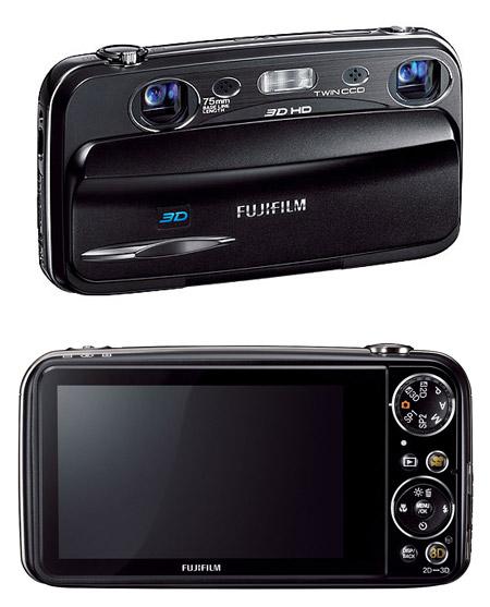 Le Fujifilm Finepix Real3D W3
